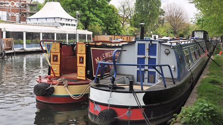 Are London's waterways too crowded? (photo: Shutterstock)
