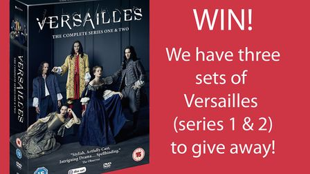 Enter our competition for your chance to win series one and two of Versailles on DVD