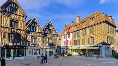 Place de l'Hotel de Ville and its charming half-timbered houses ©Rndmst   Dreamstime.com
