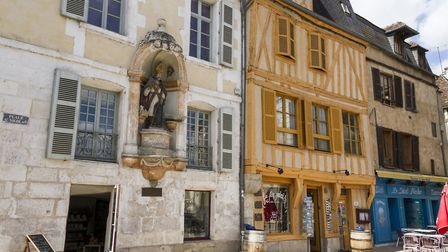 Place St. Nicolas in the town centre in Auxerre ©Photopixal - ThinkstockPhotos