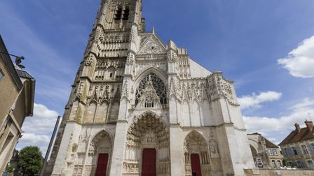 The cathedral of St-Etienne in Auxerre ©Photopixal - ThinkstockPhotos