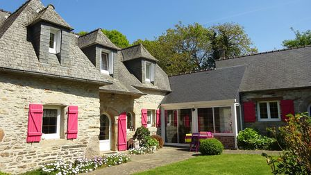 A comfortable property in Brittany