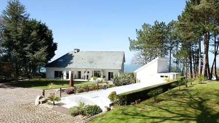 Gorgeous sea views from this house near Cherbourg