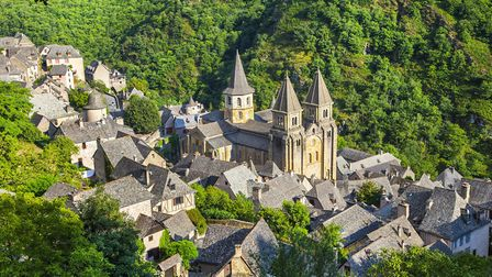 The village of Conques in Aveyron (c) Thinkstock