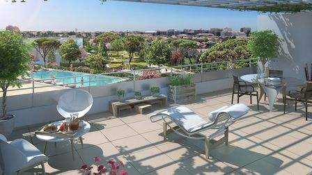 One-bed apartment in coastal development in Herault from Promeo Partners