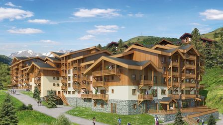 One-bed apartment in a development in La Plagne from Promeo Partners