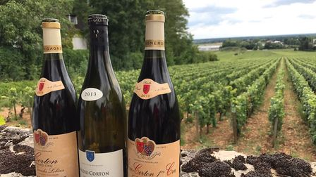Good French wine is easy to come by and cheaper ©Catriona Burns