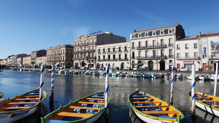 Sète is nicknamed the Venice of Languedoc ©Sce-COM