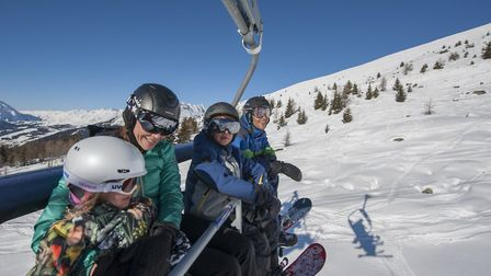 Family skiing holiday with Premiere Neige © Holly Junak