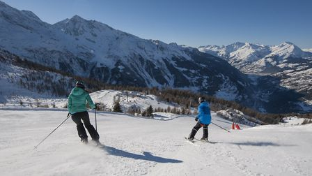 Skiing holiday with Premiere Neige © Holly Junak