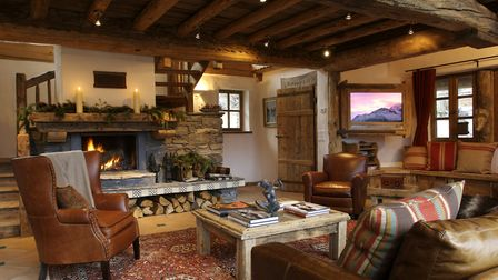 Inside Chalet Merlo from Premiere Neige © Francis Amiand
