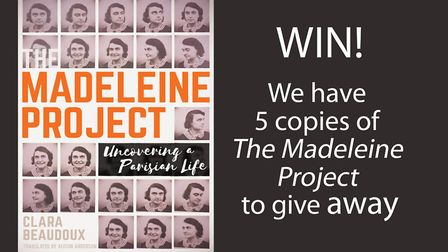 Enter our competition for a chance to win a copy of The Madeleine Project