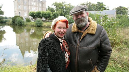 Dick and Angel have settled into life in Pays-de-la-Loire
