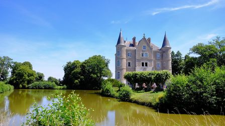 Dick and Angel bought Château-de-la-Motte Husson two-and-a-half years ago