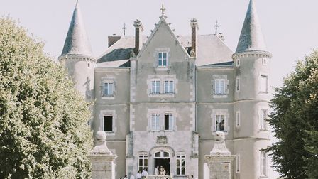 The first wedding (apart from Dick and Angel's) to be held at Château-de-la-Motte Husson