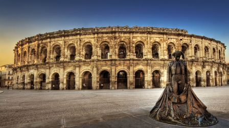 Much of Nîmes's iconic Feria des Vendages takes place around its Roman arena © Wolfgang Staudt