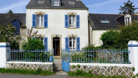 A cute village house on the Ile d'Arz in Brittany