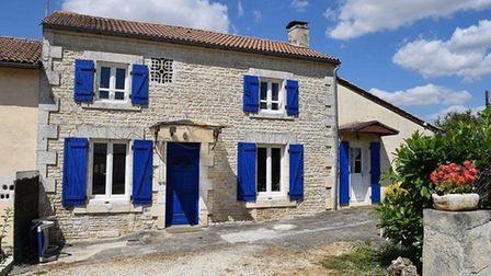 A renovated two-bedroom house in Charente