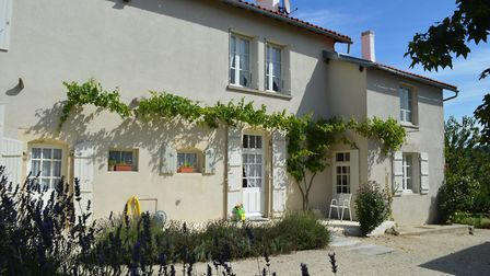 The Lunsfords' house in Charente