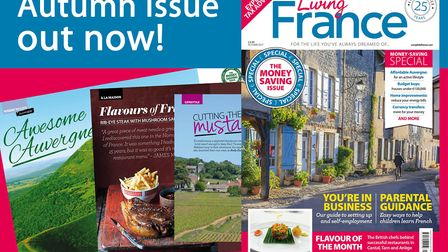The Autumn 2017 issue of Living France is out now!