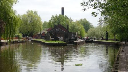 The junction of the Caldon canal