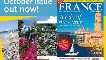 The October 2017 issue of France Magazine is out now!