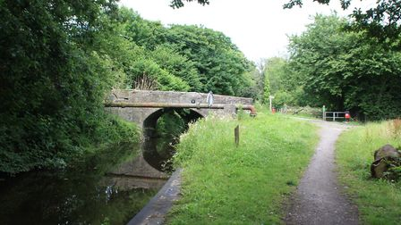 For the future: the upper lengths of canal beyond Pantardawe