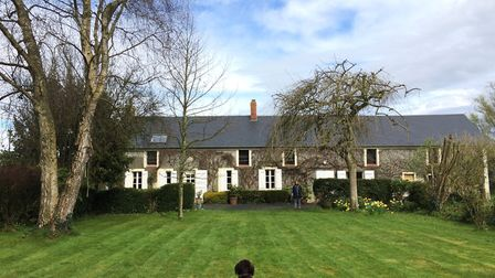 Debbie and her husband bought their house in Normandy 28 years ago