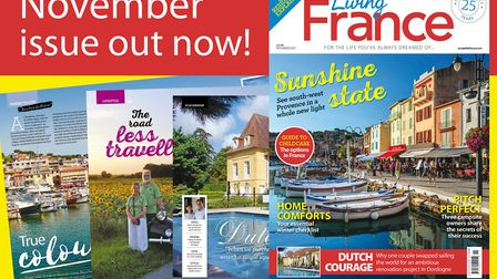 The November 2017 issue of Living France is out now!