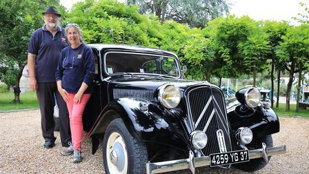 Susan and Simon tell us how the they run vintage car tours in the Loire Valley