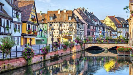 The Petite Venise district in the centre of Colmar © Thinkstock