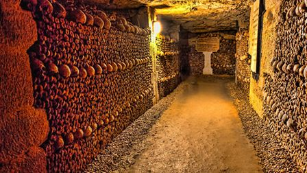 Paris catacombs one of France's most haunted places © Dirk94025 / Thinkstock