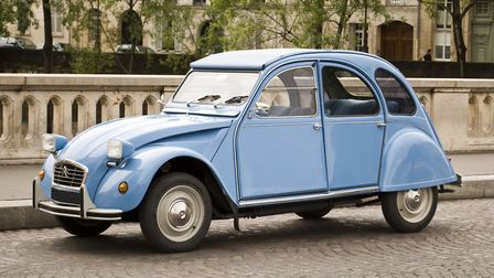 The Citroen 2CV is a French icon © EmilHuston / Thinkstockphotos