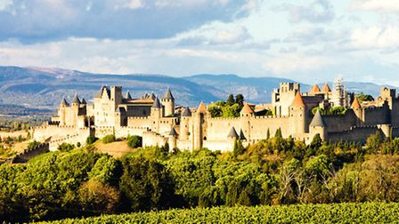 The walled cite of Carcassonne © Richard Semik / dreamstime