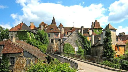 Carennac in Lot © Manfred Heyde, CC BY-SA 3.0 via Wikimedia Commons