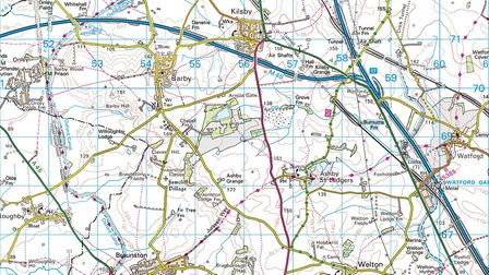 We recommend the Ordnance Survey's Explorer map 222 Rugby & Daventry to accompany this walk (Crown c
