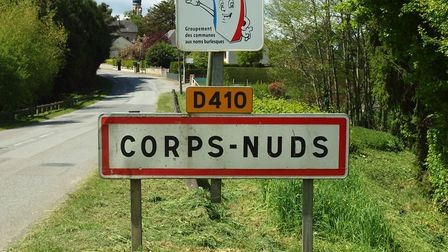 The commune of Corps-Nuds can be found in Ille-et-Vilaine in Brittany © François GOGLINS via Wikimed