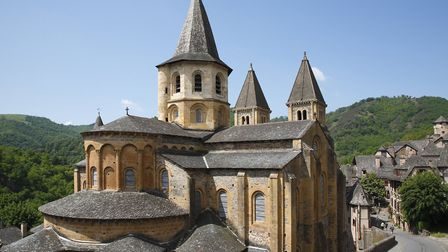 Conques is one of 10 plus beaux villages in Aveyron