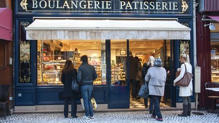 The boulangerie is an essential part of daily life in France (c) Dreamstime