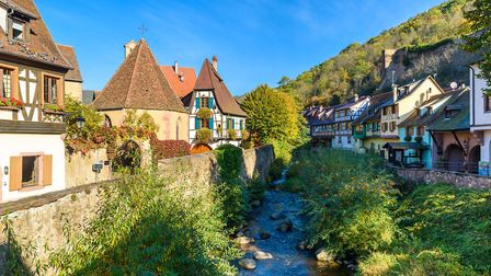 We explore some of France's favourite villages, including Kaysersberg in Alsace (c) Thinkstock
