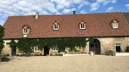 See indside this gorgeous Burgundy home in the October issue of Living France