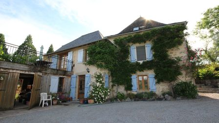 This countryside home in Aveyron is the house of our dreams! See lots more in the October issue of L