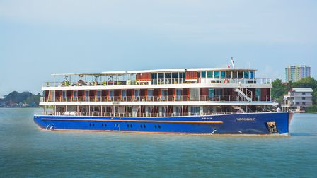 RV Indochine II on the Mekong from CroisiEurope © Brem_Film