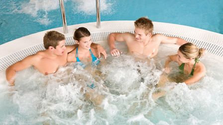 Relaxing in a jacuzzi ©CandyBoxImages-Fotolia.com
