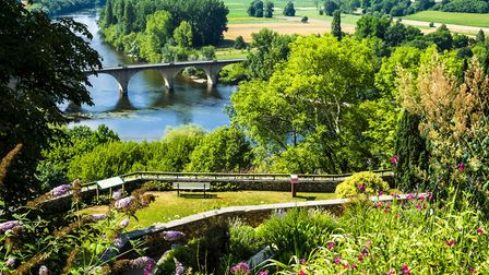 View of the Dordogne River from Limeuil © carlos / Fotolia