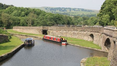 Bugsworth Basin was built to connect the Peak Forest Canal to the horse tramways linking to the lime