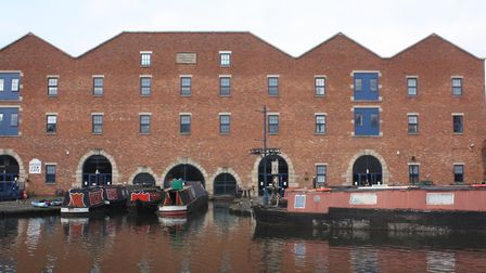 Portland Basin museum - Rebuilt after it was gutted by fire in the 1970s, the warehouse overlooking