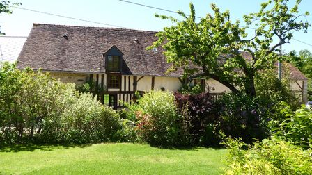 Half-timbered house in Normandy from Leggett Immobilier