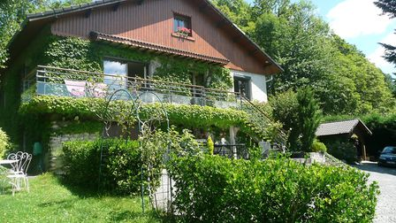 Charming villa overlooking the Pyrenees from Le Bonheur