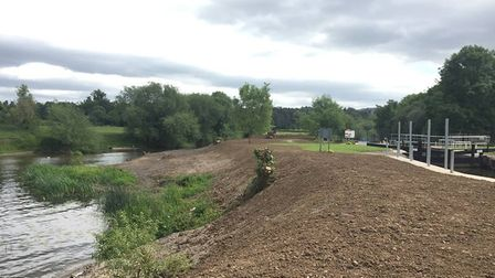 Views of the island, which it is hoped will be transformed into a wildlife haven